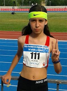 Alicia de la Granja Club Marathón Aranjuez