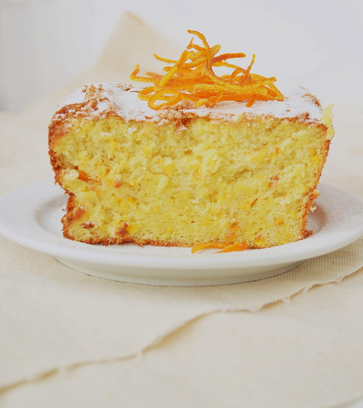 Апельсиновый кекс рецепт едим дома