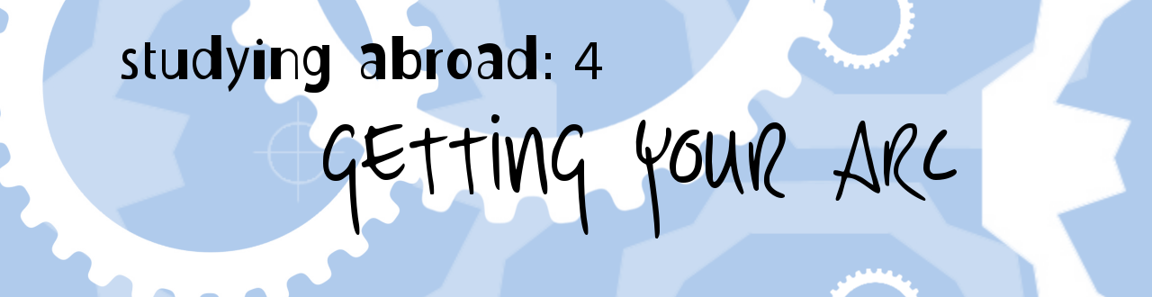 header for study abroad 4: ARC rundown