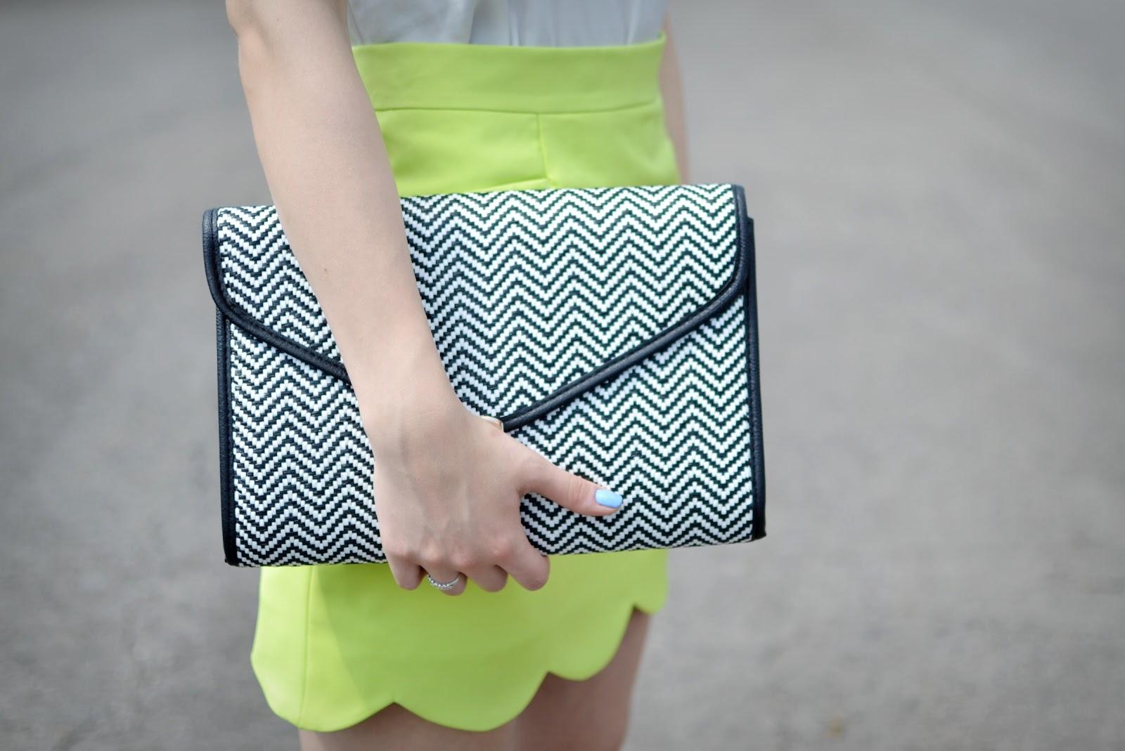 Primark clutch bag