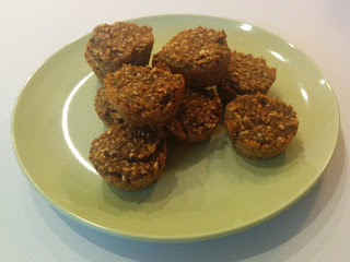 Sweet Potato Banana Oatmeal Muffins
