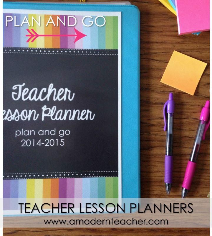 A Modern Teacher Planner Giveaway!