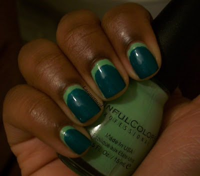 31DC2013 Day 4: Green Nails