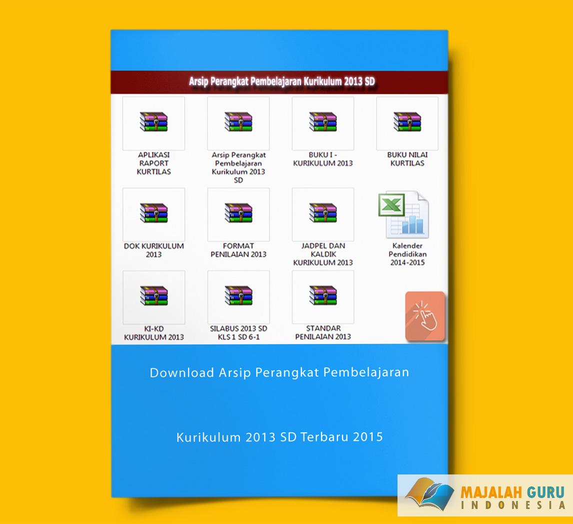 Download Arsip Perangkat Pembelajaran Kurikulum 2013 Sd Terbaru 2015 Wiki Edukasi