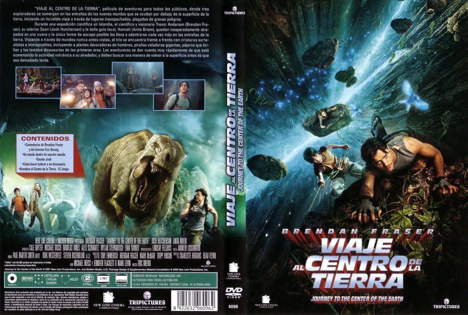 Viaje Al Centro De La Tierra DVD