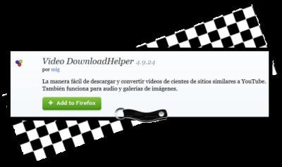 https://addons.mozilla.org/es/firefox/addon/video-downloadhelper/