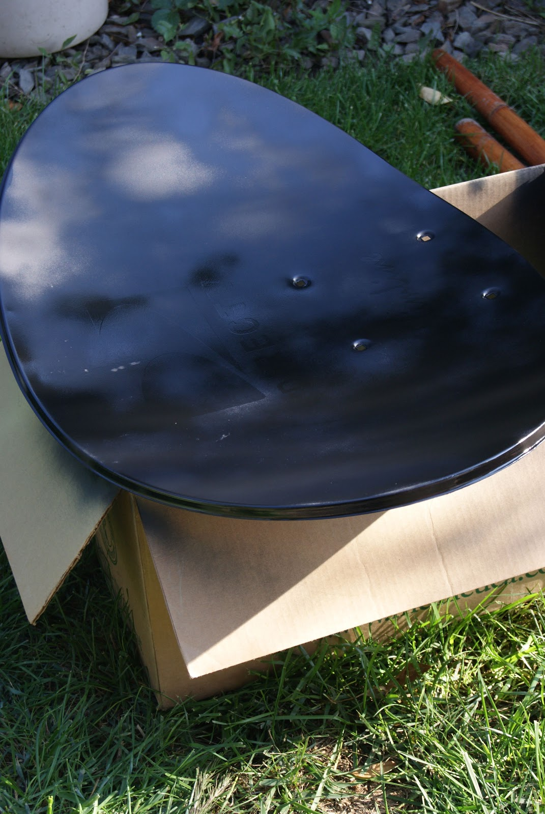 another satellite dish upcycle blessed bles id