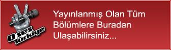 O Ses Türkiye Bölümler