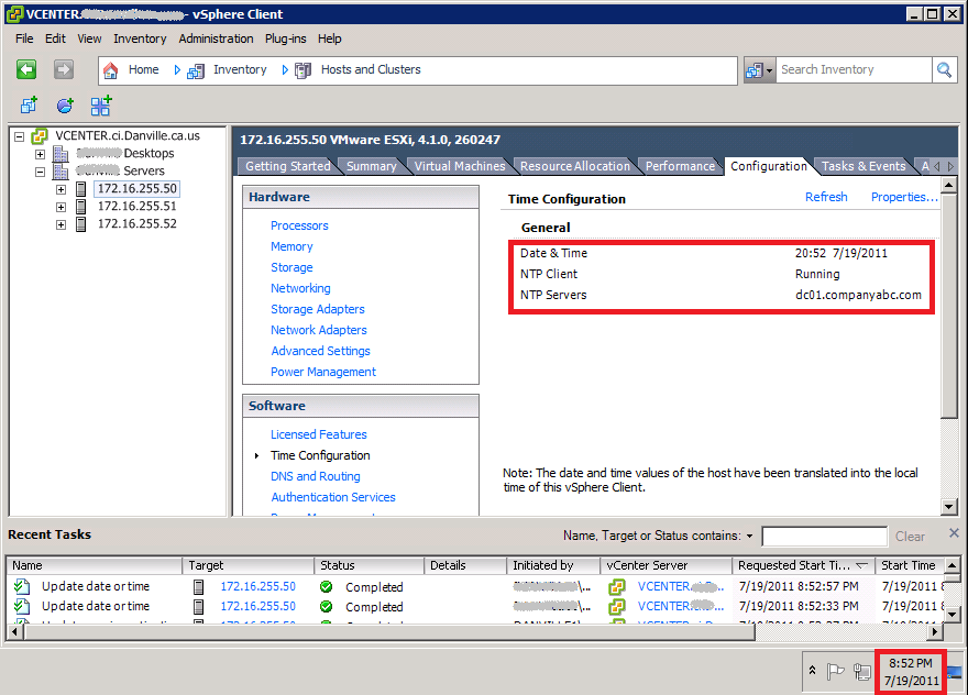 How to create and apply VMware vSphere Host Profiles