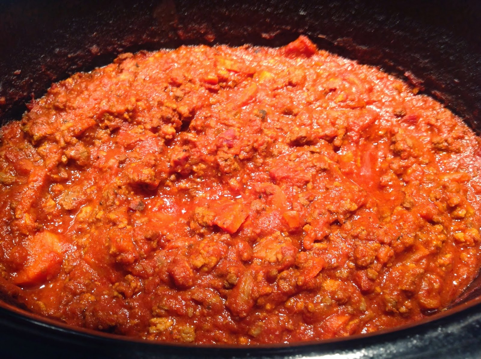 La cuisine selon marie pier sauce bolognaise la mijoteuse - Cuisine a la mijoteuse ...