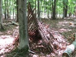 survival shelter frame