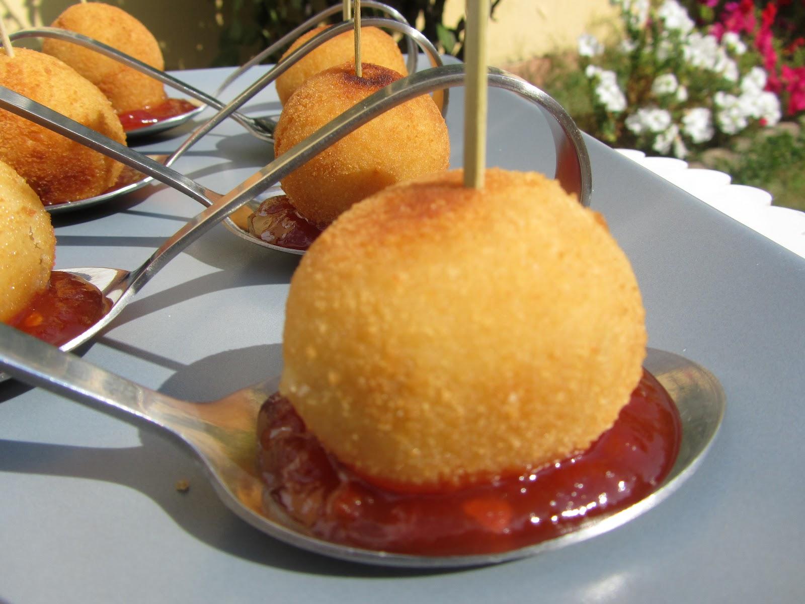 Croquetas de cebolla frita y queso de cabra thermomix - Hacer mermelada de pimientos ...