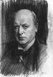Henry James, por John Singer Sargent