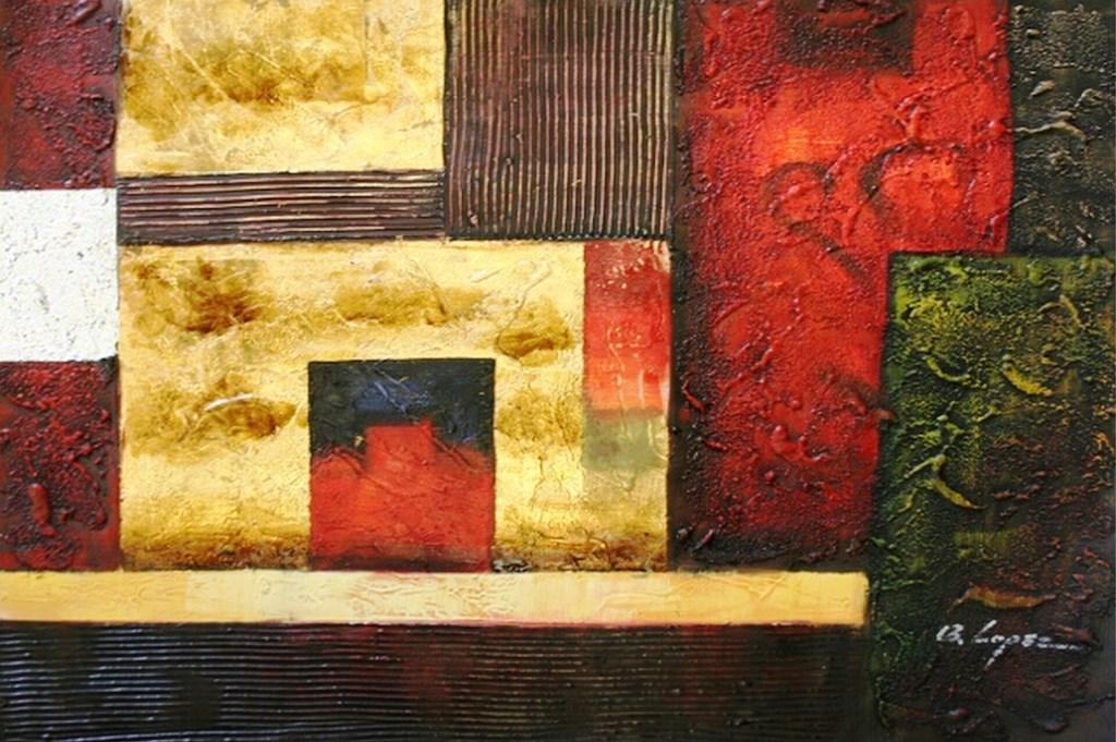 Galería de Abstractos al Óleo | Bodegones y Paisajes Cuadros al Óleo