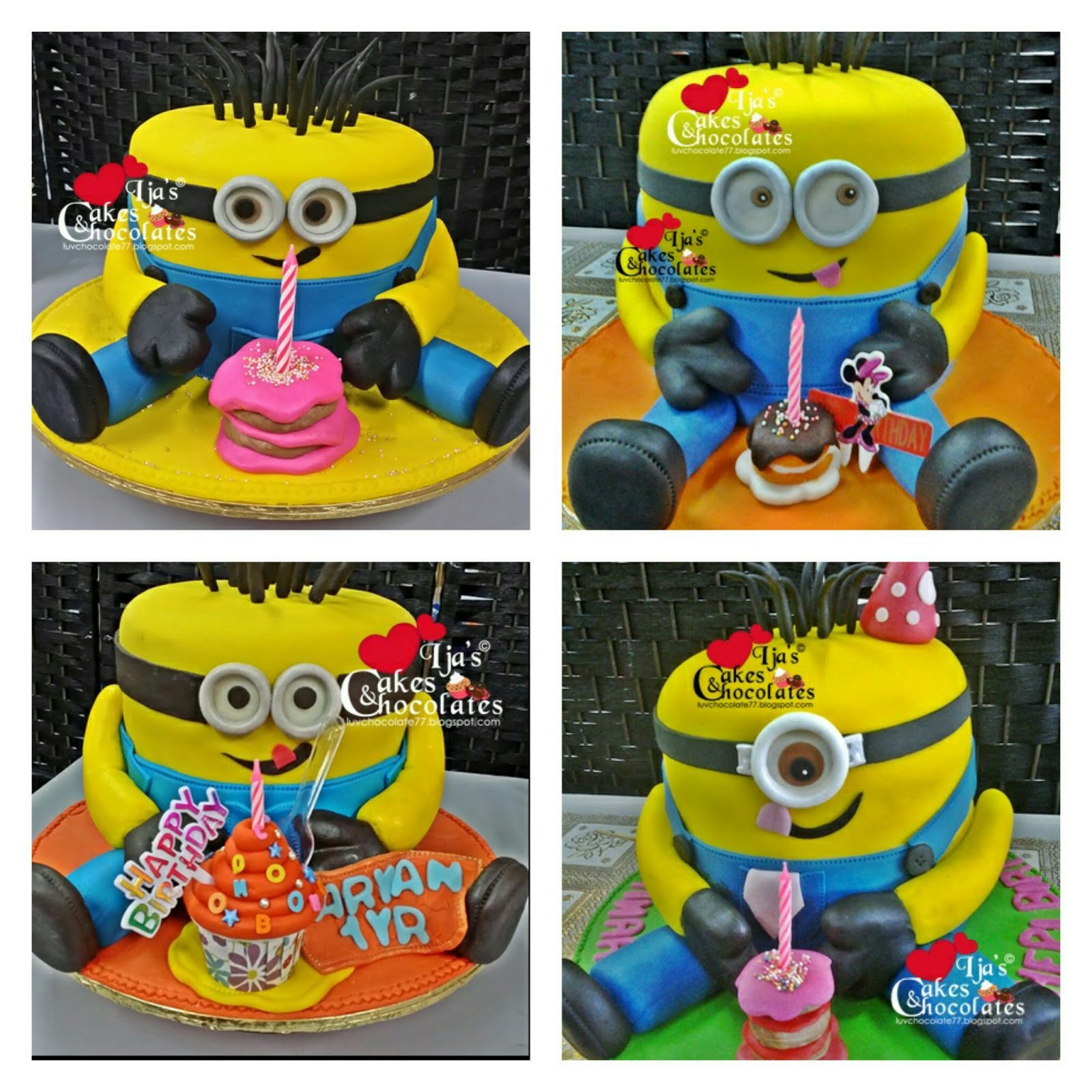 MINION CAKES