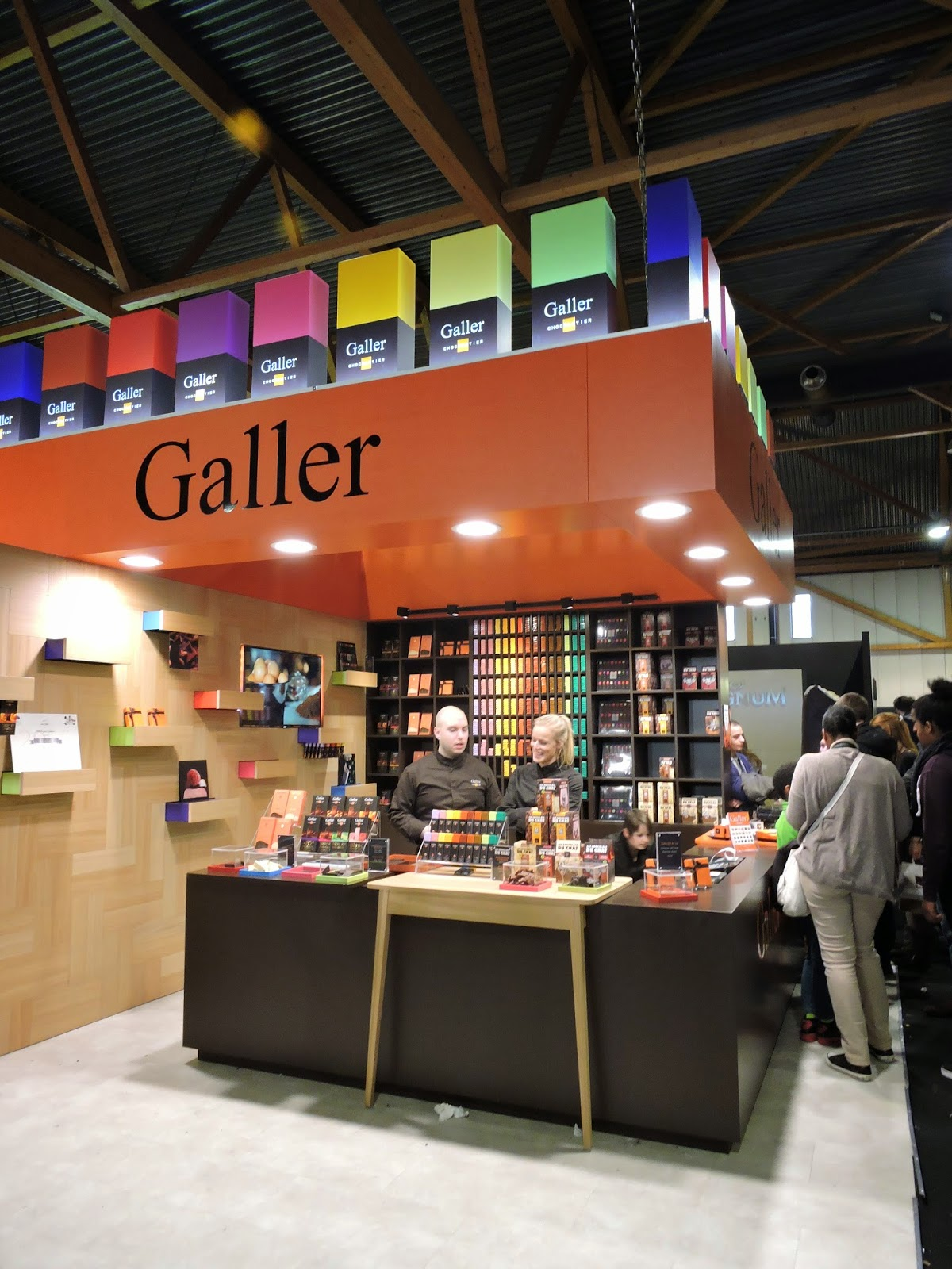 Stand chocolats Galler