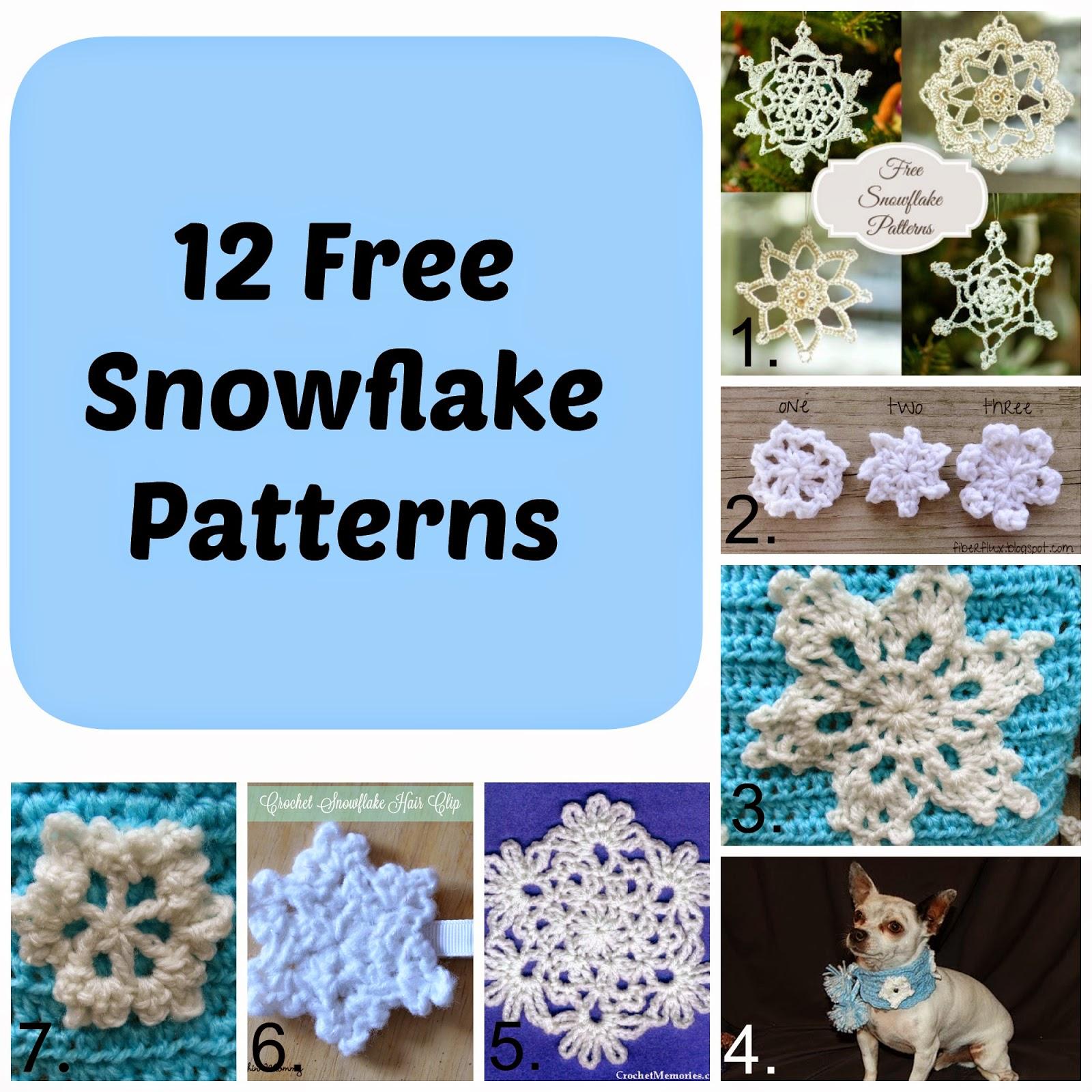 Knot Your Nana's Crochet: Snowflake Cape + 12 FREE Snowflake Patterns