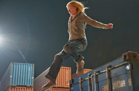 'Container Park,' the title of the Chemical Brothers score cue for the shipping container chase, always sounds like something where Jeff Goldblum and Sir Richard Attenborough get chased around while they chew all kinds of scenery.