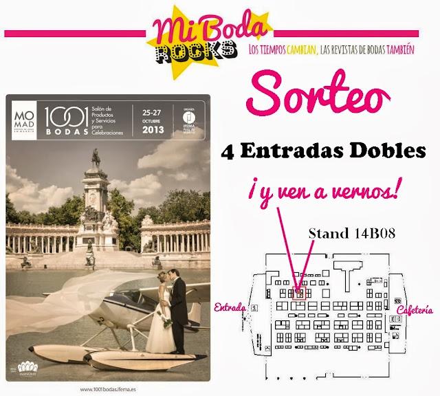 sorteo feria 1001 Bodas revista Mi boda rocks blog mi boda gratis