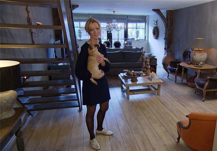 Ons huis in het tv programma 'BinnensteBuiten' jan. 2016