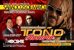 Too Rosario@Inocente Lounge