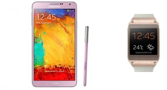 Samsung Galaxy Note 3 & Galaxy Gear Smartwatch