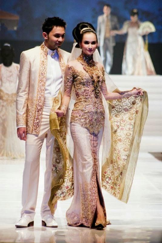 Foto Busana Pengantin Model Kebaya Anne Avantie Pernikahan Raffi Ahmad Nagita Slavina