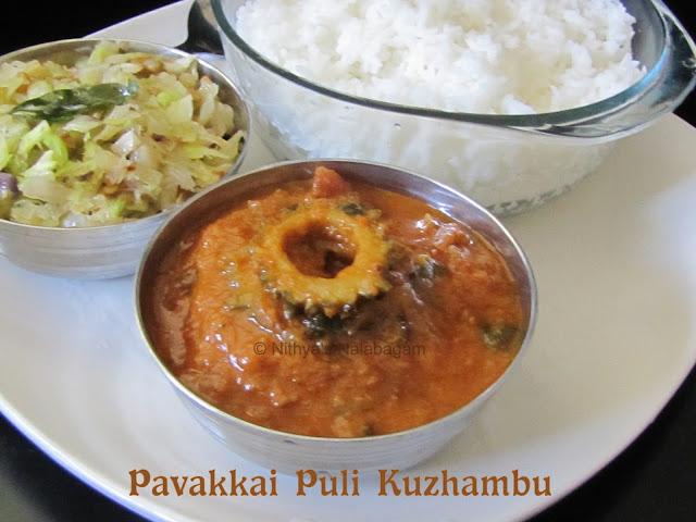 Pavakkai Puli Kuzhambu