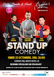 Stand-Up Comedy Vineri 23 Octombrie Bucuresti