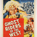 Ghost Riders of the West, Robert Kent, Peggy Stewart - Vintage Western Cowboy Movie Printable Poster