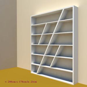 Concept Of A Bookshelf For My Momu0027s.