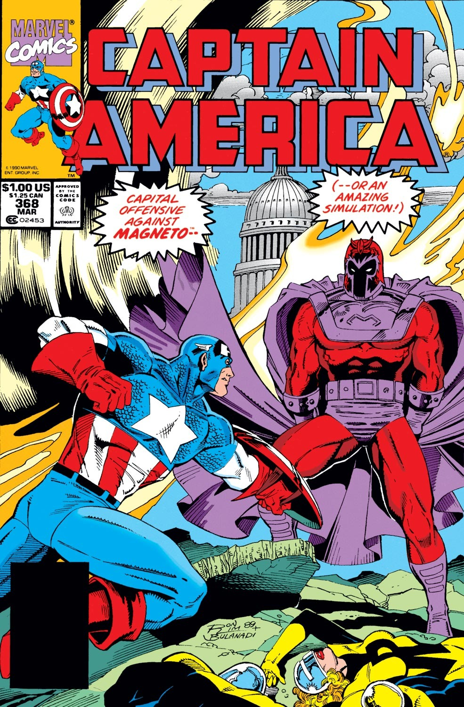 Captain America (1968) Issue #368 #301 - English 1
