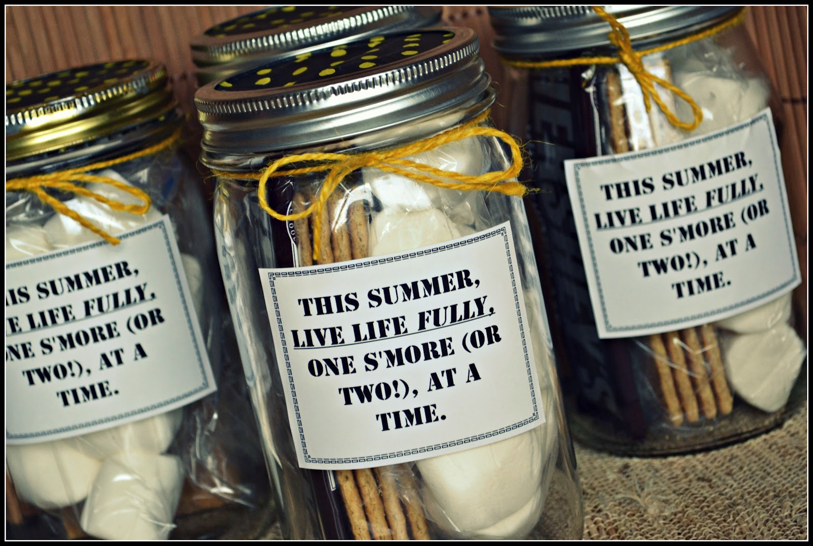 smores favor tags sayings | just b.CAUSE