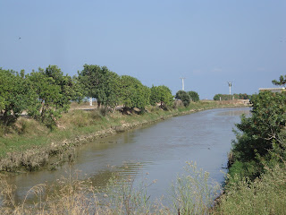 Sant Carles de La Rápita river