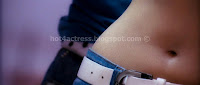 Tamanna, hot, and, spicy, navel, show