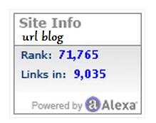 Cara Membuat Widget Alexa Rank pada Blog