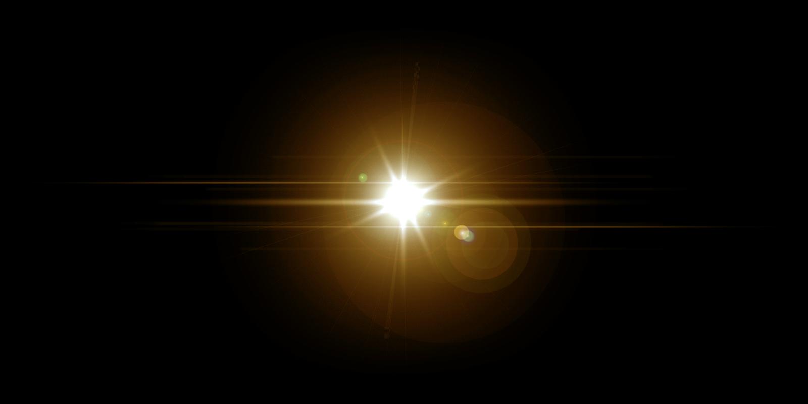 Lens Flare Texture : オレンジの作り方 : すべての講義