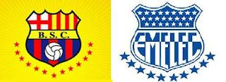 Derbi ecuatoriano, clásico de Astillero, Barcelona contra Emelec