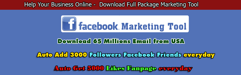 Facebook Email List Usa , Facebook Tool - Social Marketing Tool