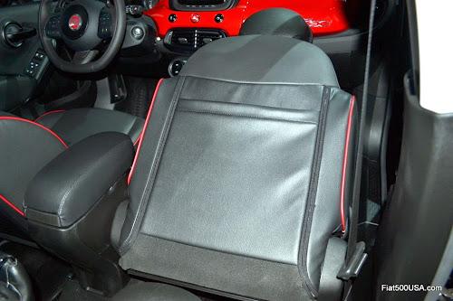 Fiat 500X Front Pasenger Folded Forward