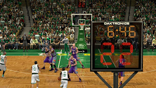 NBA 2K13 New Shot Clock Texture Mods