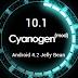 Custom ROM CyanogenMod 10.1 RC1 Dirilis