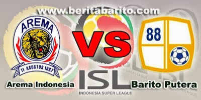 Arema Cronus vs Barito Putra QNB League ISL 2015