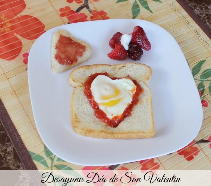 desayuno especial para san valentin