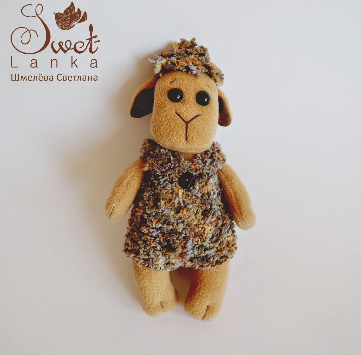 игрушка овечка малышка