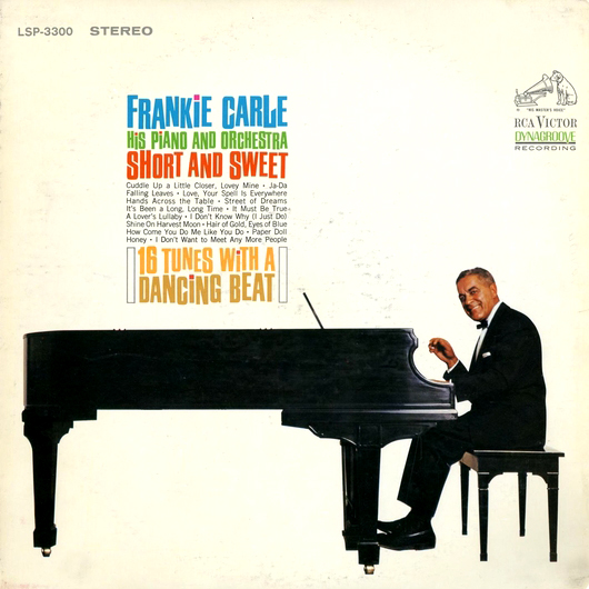 Frankie Carle And His Orchestra Love Is A Beautiful Thing / Rue De Romance