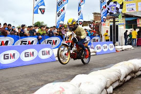 Hasil Drag Bike Purbaligga 5 Januari 2013