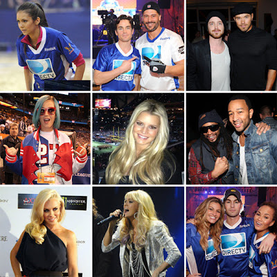 Celebrities at Super Bowl 2012