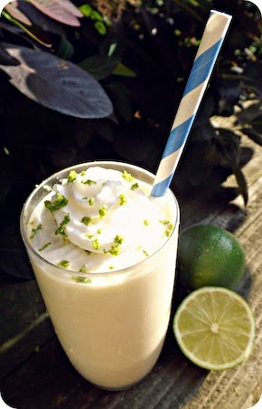 Weekly Cocktail: Boozy Key Lime Pie Milkshake