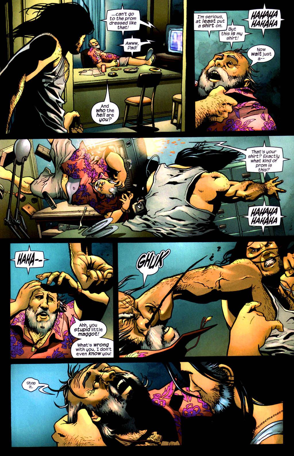 Read online Wolverine (2003) comic -  Issue #8 - 8